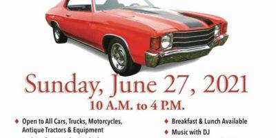 9th Annual Yorktown Grange Car Show & Antique Equipment Exhibit