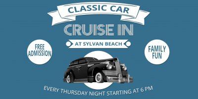 Sylvan Beach Classic Car Cruise In