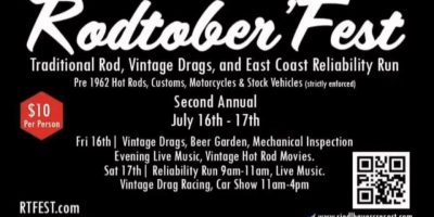 2nd Annual Old Time Drags & Reliability Run