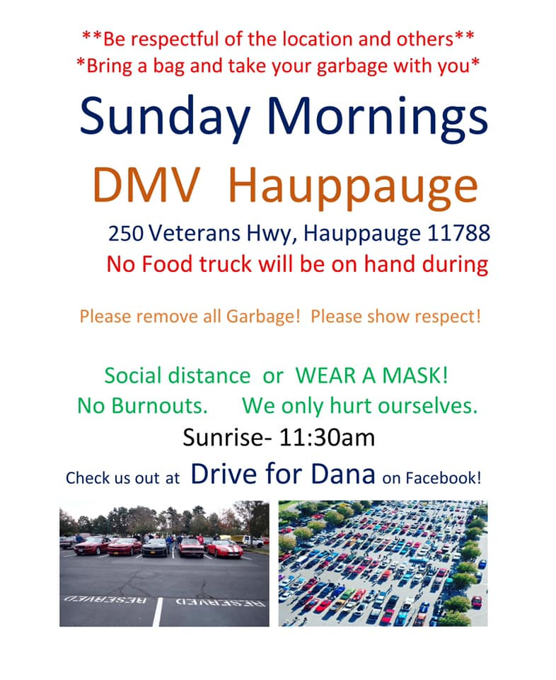 Sunday Morning Cruise In @ DMV Hauppauge