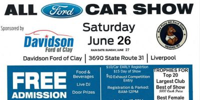All Ford Car Show