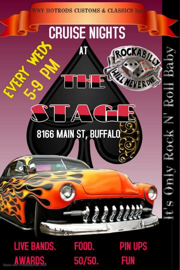 Wednesday Cruise Nights @ The Stage