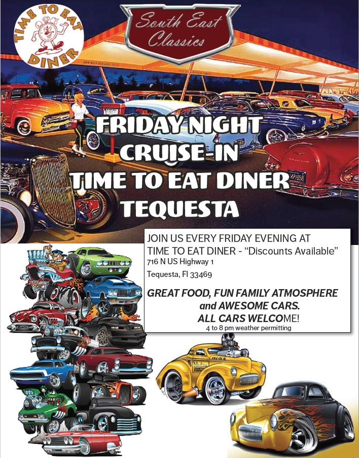 Cruise in at Time to Eat Diner
