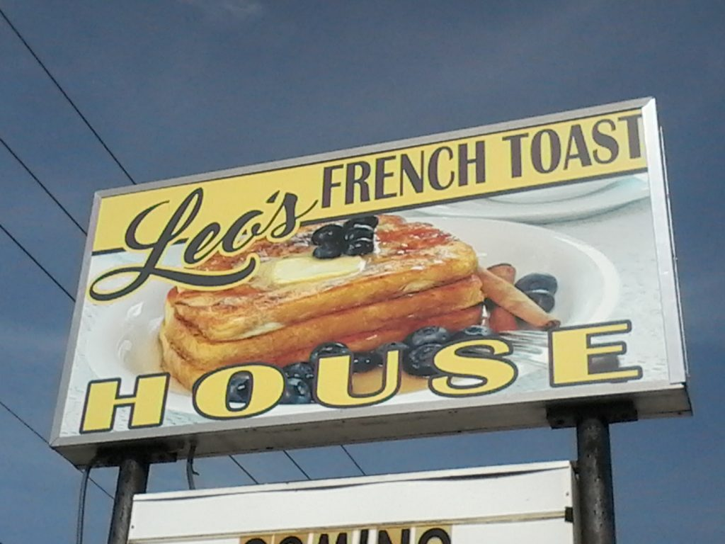 Leo's French Toast House Wednesday Night Cruise In