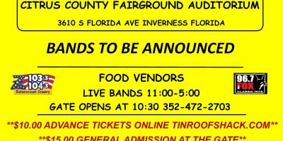 Citrus County Music Festival and Car Show