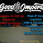 Good O' Imports Weekly Park N Chill