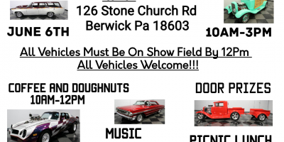Berwick Church of Christ Ultimate Motor Madness Show & Road Rally