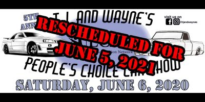 5th Annual TJ and Wayne's People's Choice Car Show