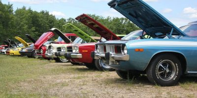 Mel's Car Shows at the Super 322 Drive-In Theater