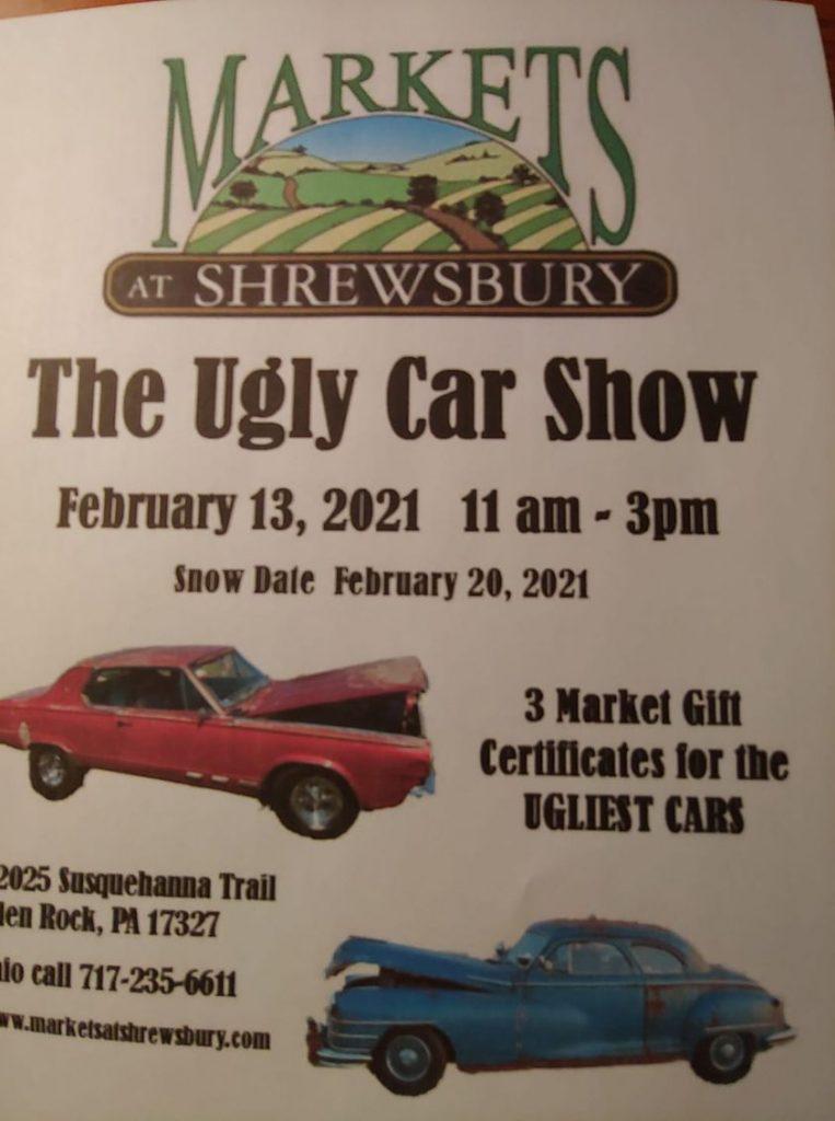 The Ugly Car Show @ Markets at Shrewbury
