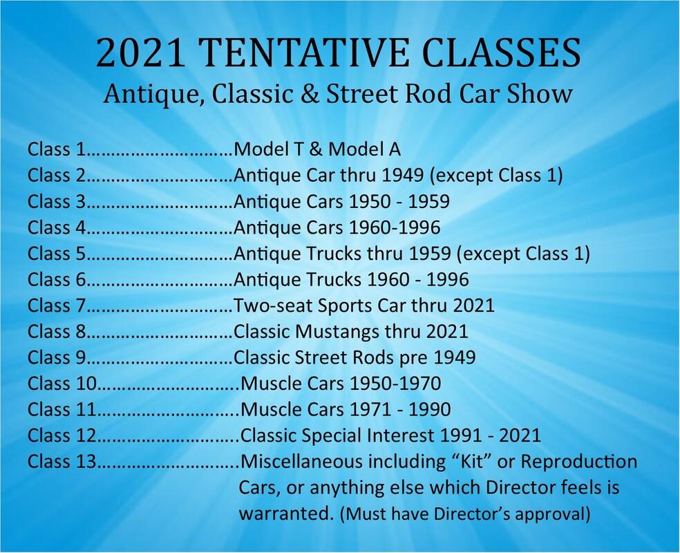 Antique, Classic & Street Rod Car Show
