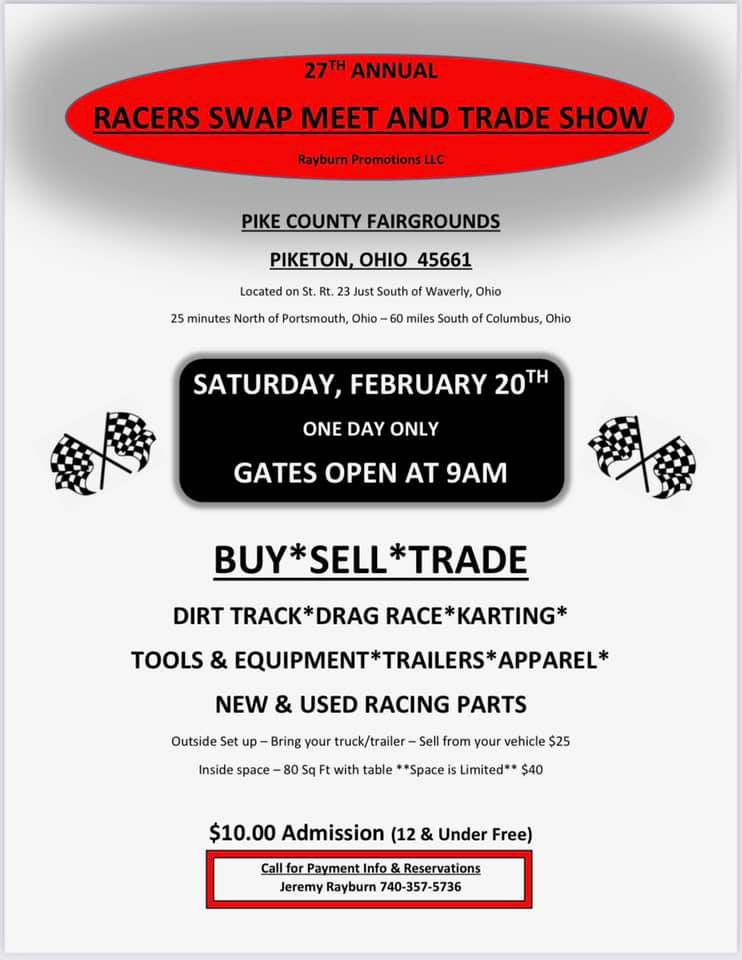 27th Annual Racers Swap Meet and Trade Show