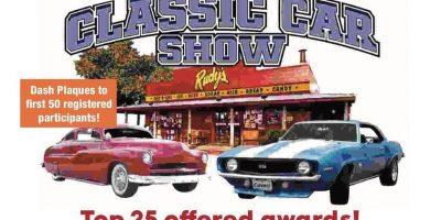 Rudy's BBQ Fire'em Up Classic Car Show